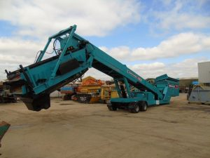 Powerscreen Commander 1400 Mobile Rinser Year 2005