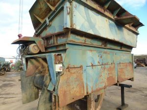 Powerscreen Feed Hopper c/w Tipping Grid Year 2003
